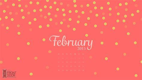 february 2015 desktop calendar front door