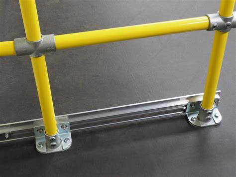 banister safety guard modular safety guard rail system kwikrail bluewater