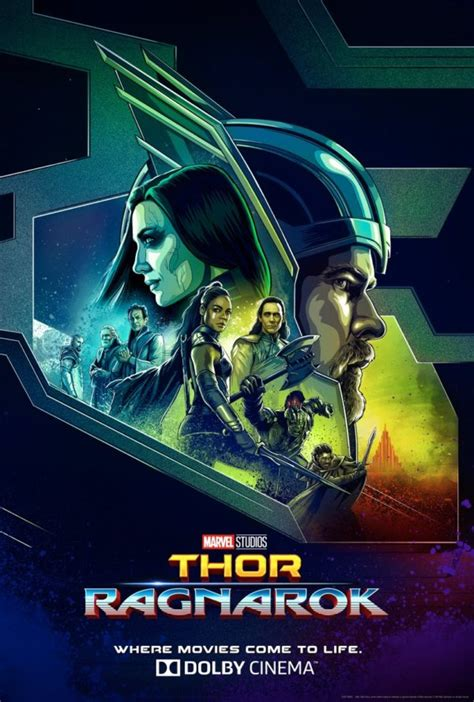 thor ragnarok marvel releases new illustrated thor ragnarok poster