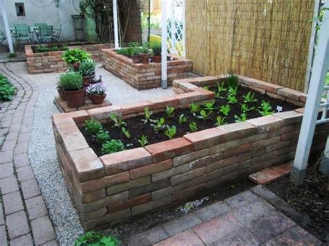 Garten Gestalten Mit Ziegelsteinen by Gartengestaltung Mit Ziegelsteinen Gartengestaltung Mit