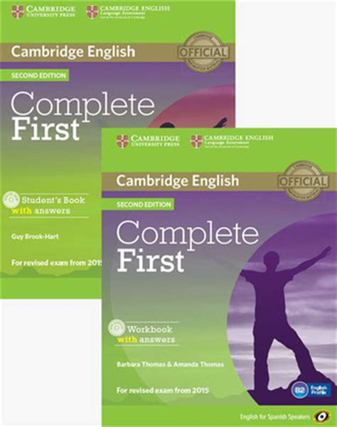 complete first students book complete first for spanish speakers 2nd edition