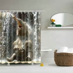 bathroom product colormix 3d elephant design mouldproof