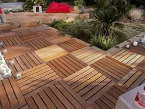 image de terrasse en bois terrasse bois noir