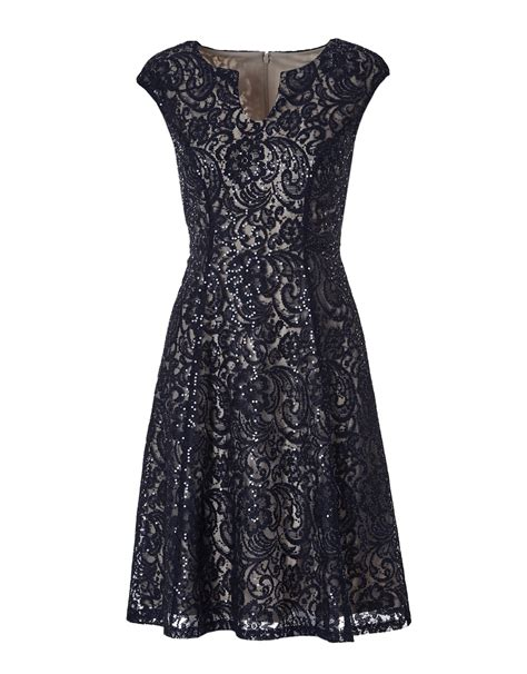 Cleeo Dress lace fit and flare dress cleo