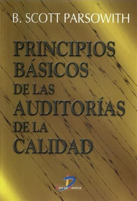 libro spanish b for the descarga libro principios b 193 sicos de las auditorias de la calidad por b scott parsowith en pdf