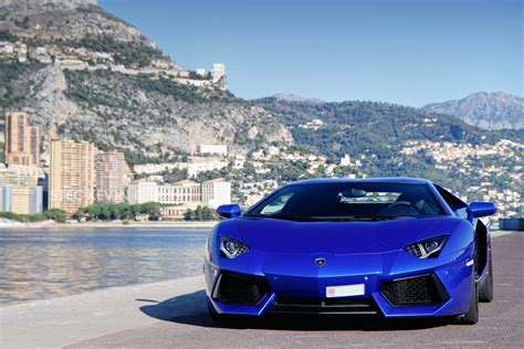 Blauer Lamborghini by Black And Blue Lamborghini 4 Hd Wallpaper