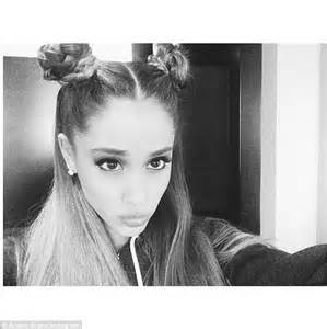 photos of arians hair ariana grande ditches trademark hairstyle for princess