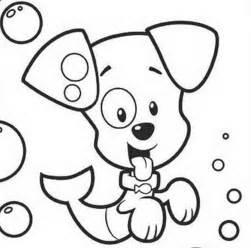 bubble guppies black white clipart