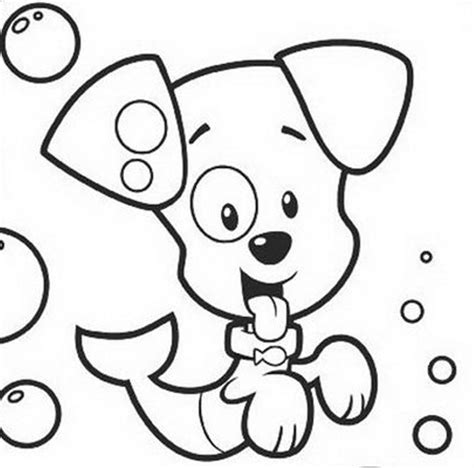 printable coloring pages bubble guppies download puppy bubble guppies coloring pages or print
