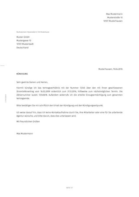 Moderner Briefstil Muster 12 Photos Of The Kndigung Strom Vorlage K Ndigung Mietvertrag 2 Hauptmieter Vorlage