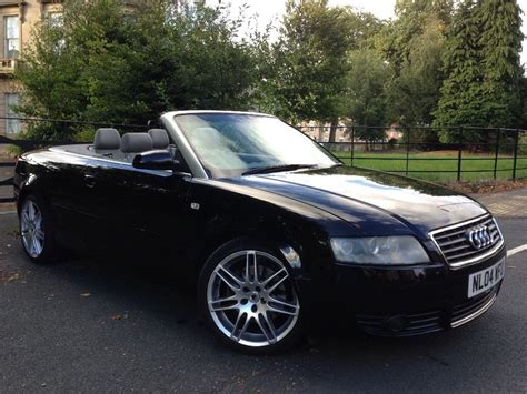 audi rs4 convertible 2004 audi a4 convertible 1 8 upgraded rs4 alloy wheels