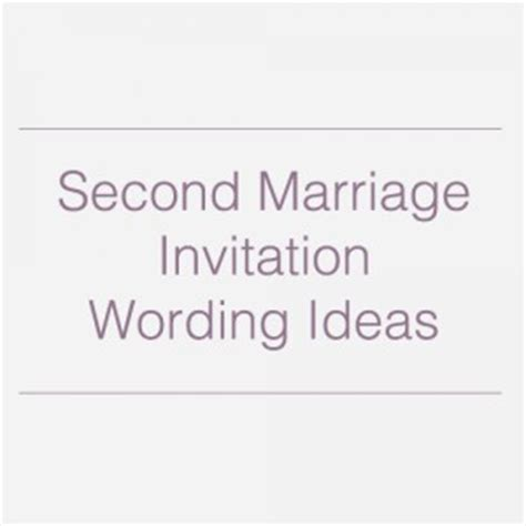 second marriage wedding invitations second marriage quotes quotesgram