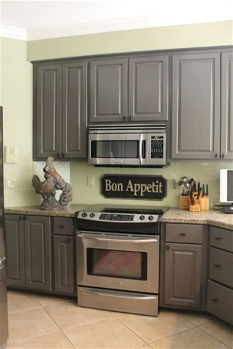grey green kitchen cabinets kitchen mini makeover miss kopy kat