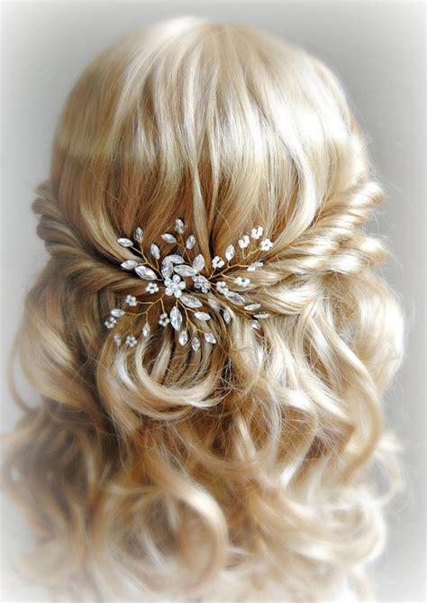 Wedding Hair With Pin by And Pearl Hair Pins Gold Wedding Hair Pins