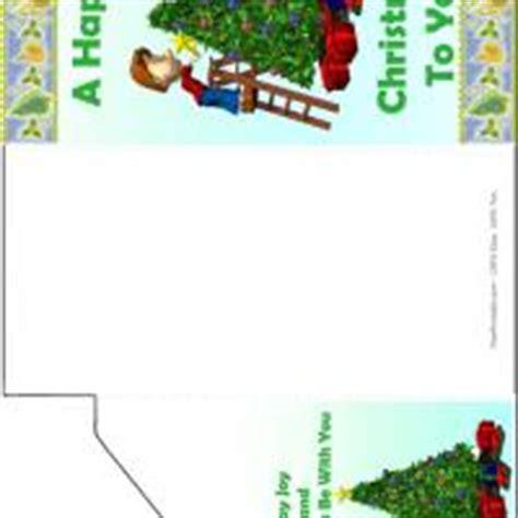 printable christmas money cards xmas tree money card
