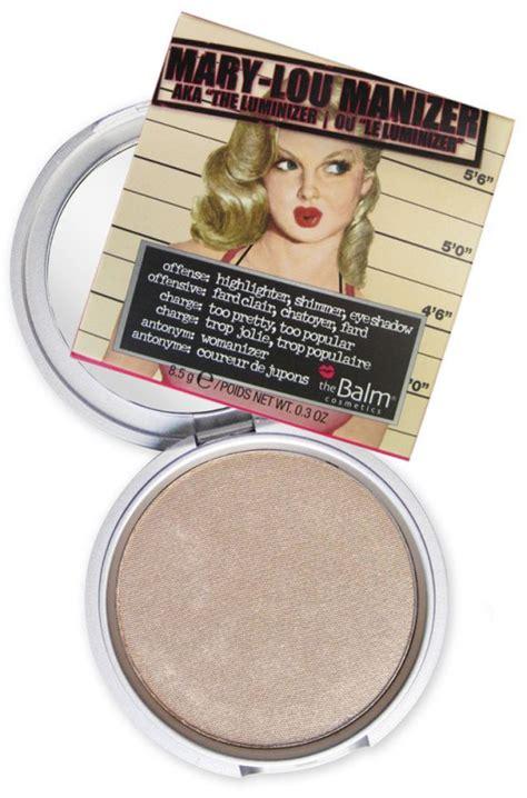 The Balm Blush Original the balm the balm lou manizer highlighter shadow