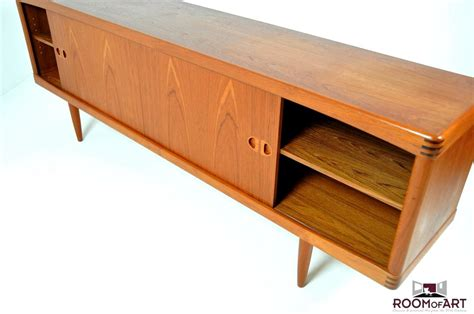 Mid Century Style low sideboard in teak by h w klein room of art