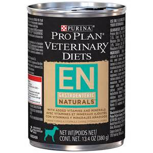 purina 174 pro plan 174 veterinary diets en gastroenteric naturals canned dog food 12x13 4 oz