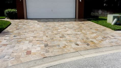 Patio Paver Installation Travertine Patio Paver Installation Modern Patio Outdoor