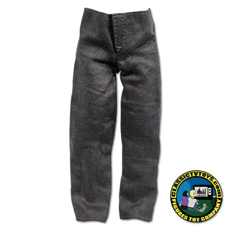 8 inch figure clothes grey suit for 8 inch figures