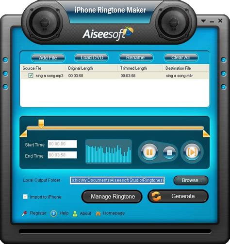 best mp3 cutter for pc free download download aiseesoft iphone ringtone maker 7 0 36