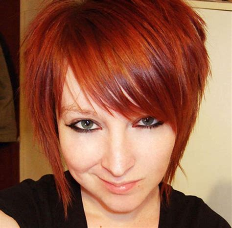 emo choppy layers with bangs front and back pictures outstanding short emo hairstyles for girls hairzstyle