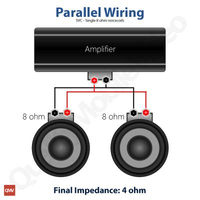 wiring 2 svc 4 ohm speaker 8ohm 31 wiring diagram images