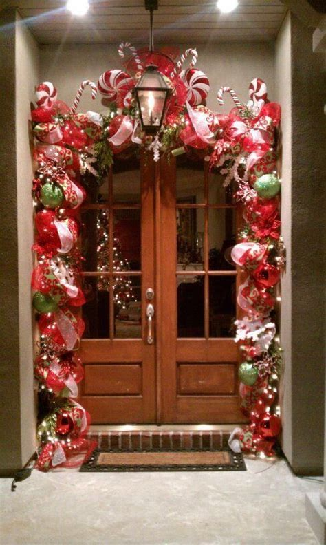 diy outdoor christmas decorations for the entryway