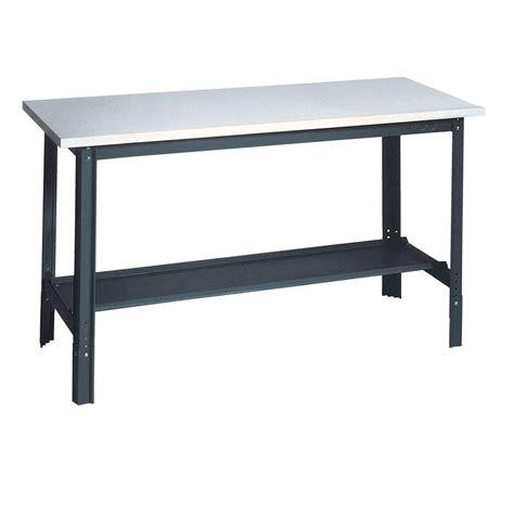 bench laminate edsal 34 in h x 60 in w x 24 in d plastic laminate top