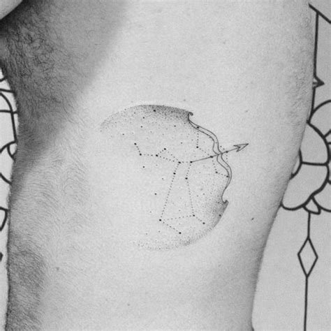 sagittarius constellation tattoo zodiac sign tattoos sagittarius tattoos best tattoos