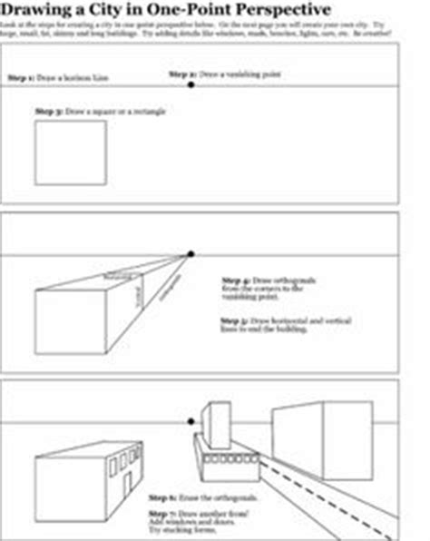 pengertian slide layout animation worksheet perspective one point perspective and worksheets on pinterest