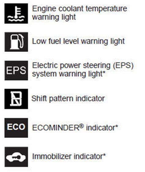 Kia Optima Change Indicator Kia Optima Gt Gt Indicator Symbols On The Instrument Cluster