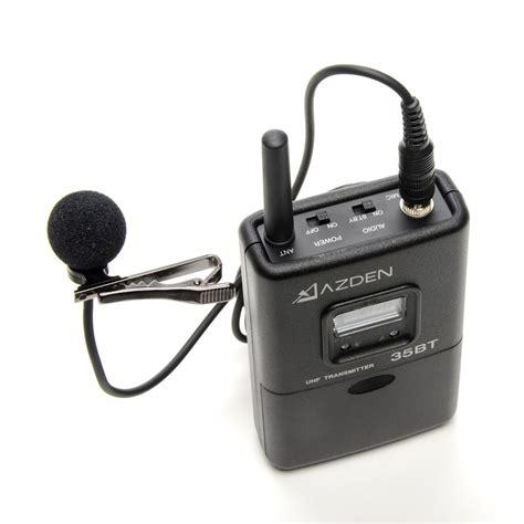 Ltpro Dual Function Twc 330lt dual channel uhf wireless lavalier system azden pro shop