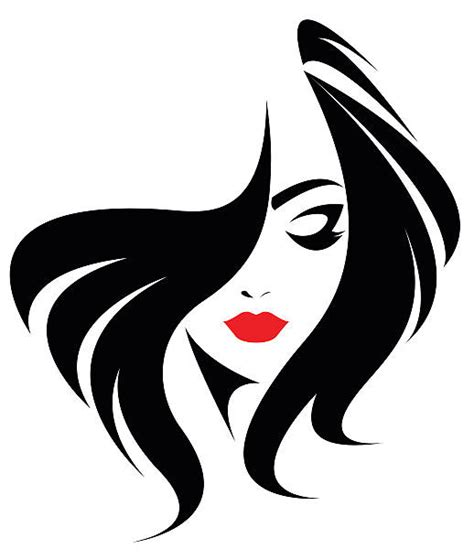 hair salon clip hair logo clipart collection