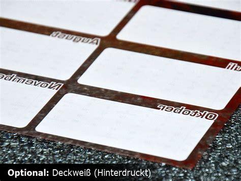 Durchsichtige Aufkleber Drucken Lassen by G 252 Nstig Kalender Unterlage Drucken Versandkostenfrei