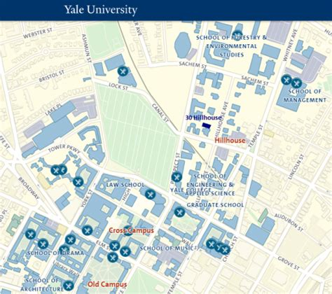 printable yale map visiting faculty frequently asked questions cowles