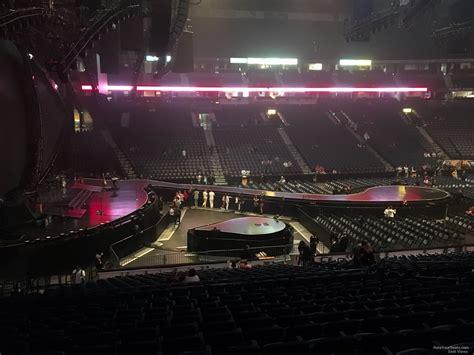 bridgestone arena section  concert seating