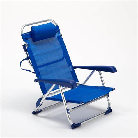 sedie da mare sedia sdraio da mare alluminio con braccioli prendisole