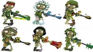 plants vs zombies garden warfare all characters