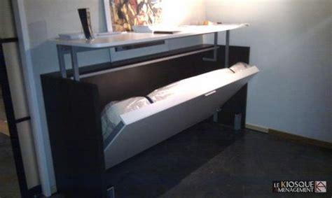 lit escamotable bureau lit escamotable avec bureau relevable fabriquer lit