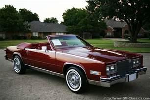 80 Cadillac Eldorado 1985 Cadillac Eldorado Convertible Matt Garrett