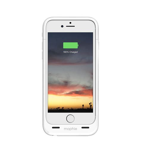 mophie 4 blinking lights mophie juice pack protective battery for iphone 6