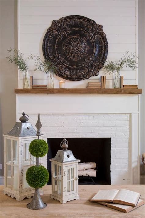 chip and joanna shiplap see this fireplace updated by hgtv fixer upper hosts chip