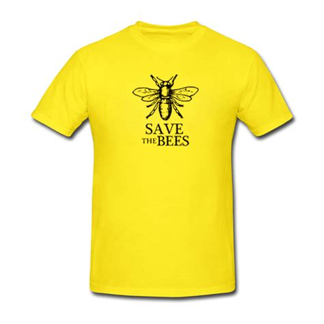 T Shirt Save Kpk save the bees tshirt