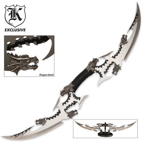 Design My Kitchen Online For Free by Six Dragon Head Double Blade Sword Budk Com Knives