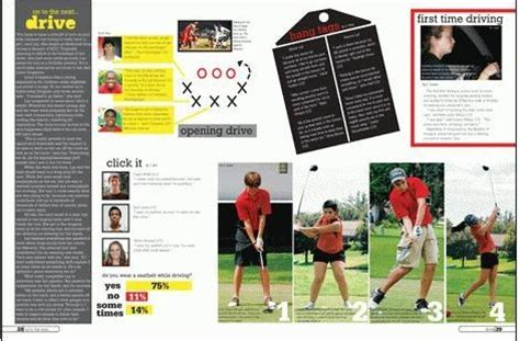 yearbook golf layout 30 best images about yearbook on pinterest high schools