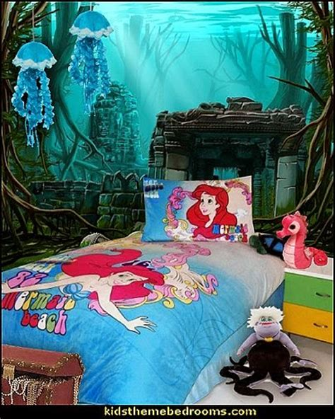 mermaid themed bedroom decorating theme bedrooms maries manor little mermaid