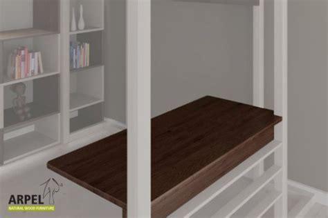 scrivania soppalco scrivania per letto a soppalco ultra