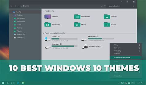 best themes html 10 best windows themes skins to improve your windows 10 look