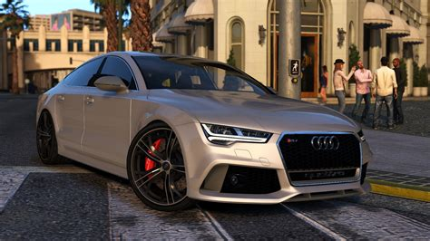 Audi Rs 7 Sportback by 2015 Audi Rs7 Sportback Add On Replace Gta5 Mods